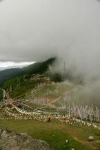 Wahnsinnig schöner Anblick auf dem Chele La Pass