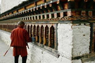 Wunderbar spirituelle Stimmung beim Changangkha Kloster