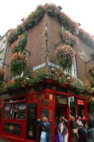 Berühmte Temple Bar in Dublin