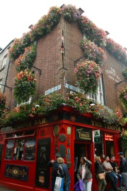 Berühmte Temple Bar in Dublin