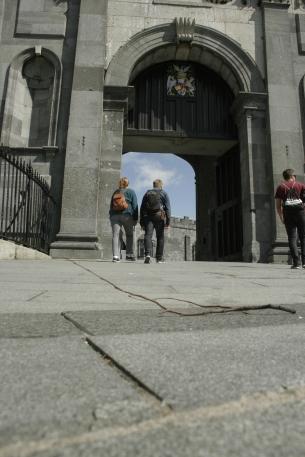 Eingang zum Castle in Kilkenny