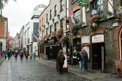 Im Stadtteil Temple Bar in Dublin
