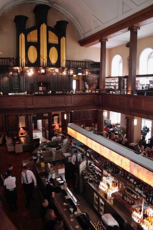 The Church Bar in Dublin