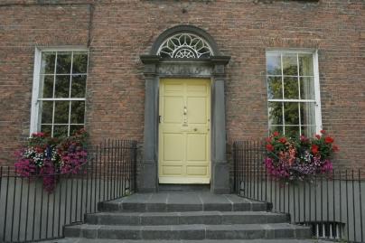 Typisch irische Hauseingänge in Kilkenny