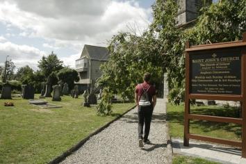 Unzählige Kirchen in Kilkenny