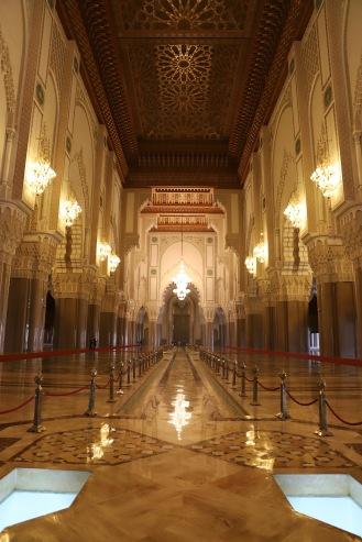 Casablanca - Hassan II Moschee von innen