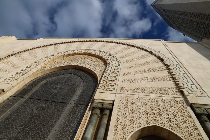 Casablanca - gigantische Mauern