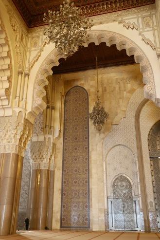 Casablanca - in einer der größten Moscheen der Welt