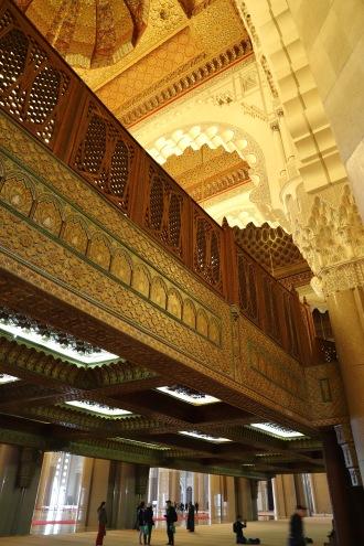 Casablanca - unten beten die Männer, oben die Frauen
