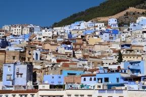 Chefchaouen - Blick auf die Medina