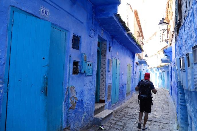 Chefchaouen - alles ist blau