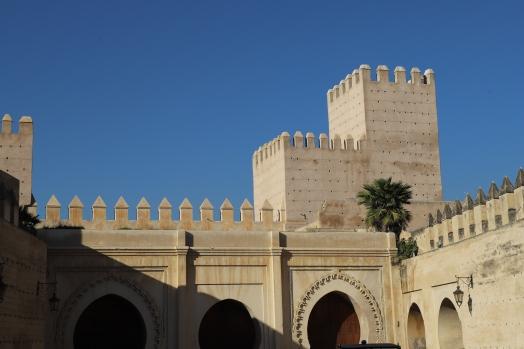 Fès - Mauern beim Königspalast