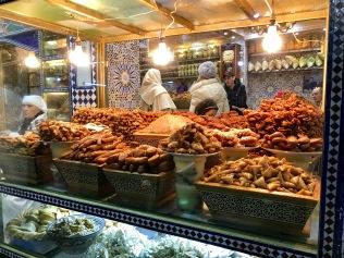 Fès - die Marokkaner haben nicht nur einen süßen Zahn