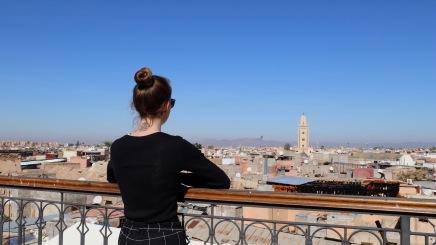 Marrakesh - über den Dächern der Stadt