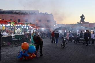 Marrakesh - Djemaa el-Fna Treiben