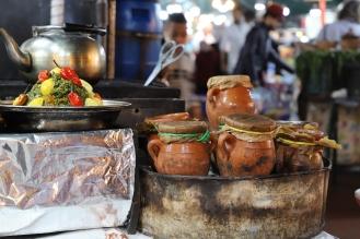 Marrakesh - Djemaa el-Fna typische Speisen