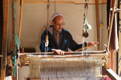 Marrakesh - Handwerker beim Weben