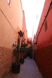 Marrakesh - kleine Gassen in der Medina