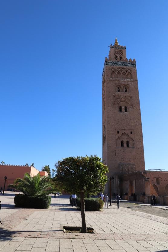 Marrakesh - Koutoubia Moschee