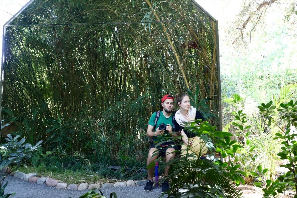 Marrakesh - Spiegelhäuschen im Anima Garden