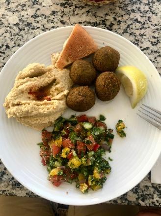 Marrakesh - Tabouleh, Falafel & Hummus
