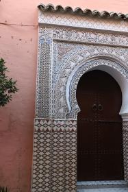 Marrakesh - typische Hauseingänge