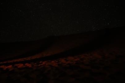 Sahara Tour - erste Versuche, den Nachthimmel zu fotografieren