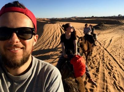 Sahara Tour - Kamelritt zum Berber-Camp