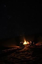 Sahara Tour - Lagerfeuer mit afrikanischer Musik