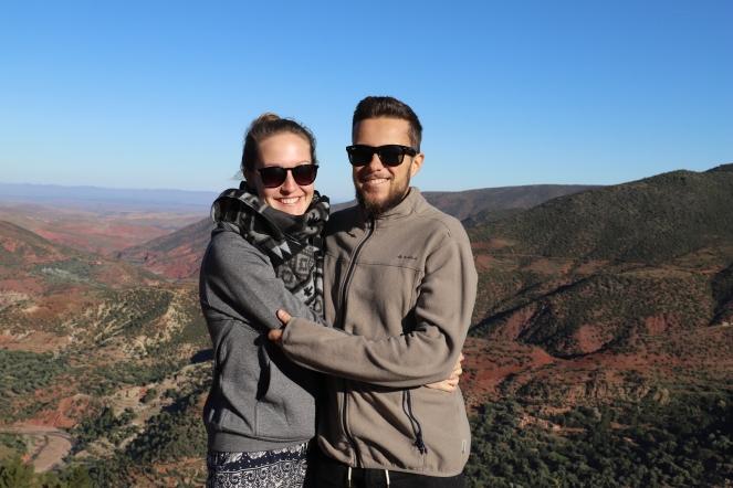 Sahara Tour - Panoramablick über den Hohen Atlas