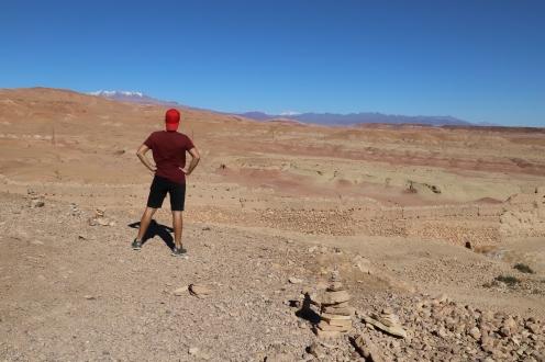 Sahara Tour - Wüste und schneebedeckte Berge