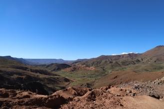 Sahara Tour - wunderschöne Landschaft zieht an uns vorbei