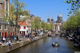 Sonnentag in Amsterdam