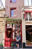 Kleine Häuschen in Amsterdam