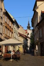 Abendstimmung in Ljublijana