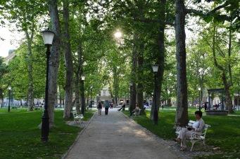 Parks in Ljublijana