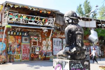 Street Art in Metelkova, Ljublijana
