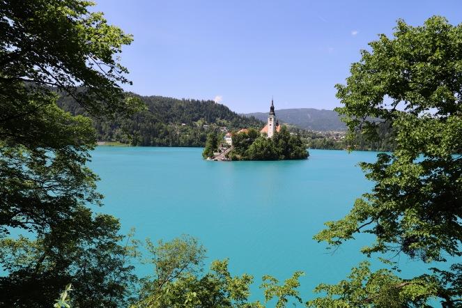 Unglaubliche Farben in Bled