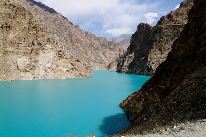 Attabad Lake im Norden Pakistans