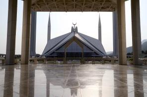 Faisal Moschee in ihrer ganzen Pracht