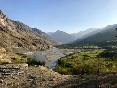 Letzter Blick auf das schöne Kalash Tal - Ayun