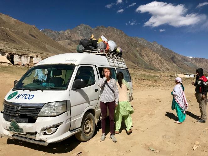 Staubige und holprige Fahrt von Gilgit nach Mastuj