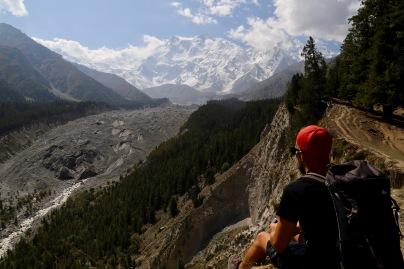 Staunen über diesen riesigen Berg - Nanga Parbat