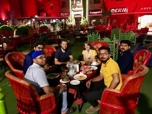 Mit unseren Freunden aus Lahore