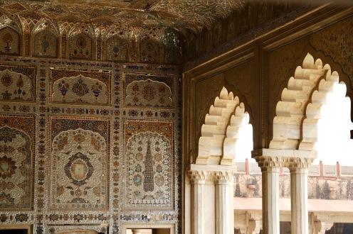 Spiegelsaal in der Befestigungsanlage in Lahore