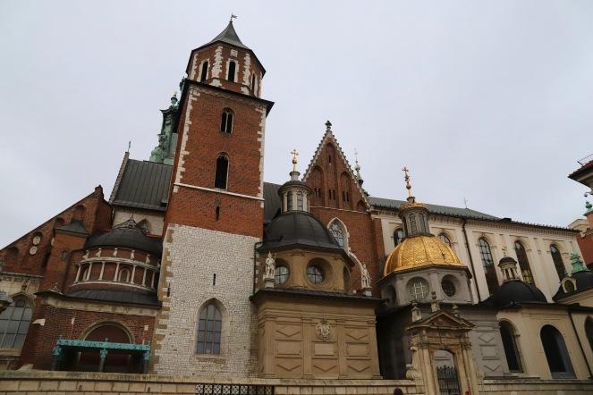 Kathedrale am Wawelhügel