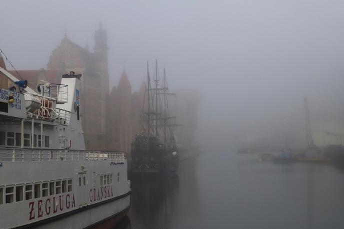 Ostsee-Nebel in Danzig