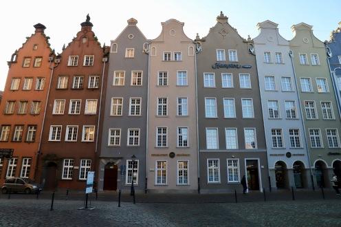 Typisch nordische Bauten in der Innenstadt